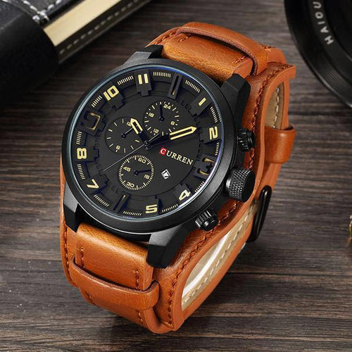 Fashion Belt Quartz Mens' Watch Sport Watch