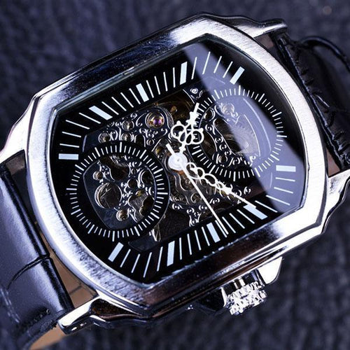 Retro Classic Stainless Steel Case Mens Watches