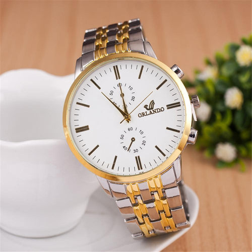 Fashion Orlando Mens Watch Quartz Alloy Watch