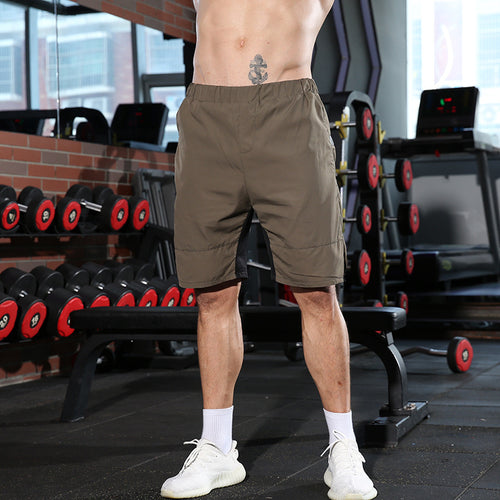 Men's Running Shorts Quick-Drying Sports Fitness Pants