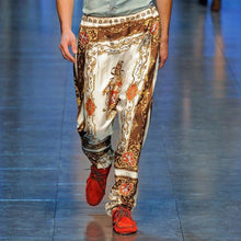 Load image into Gallery viewer, Modern Fashion Printed Splicing Pants