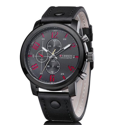Fashion Mens Watches Montre Homme Hombre Quartz-Watch
