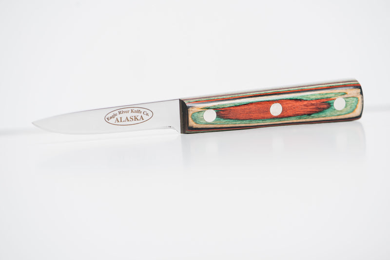 Double Edge Filet Flexible Blade Knife by Eagle River Knife Co.