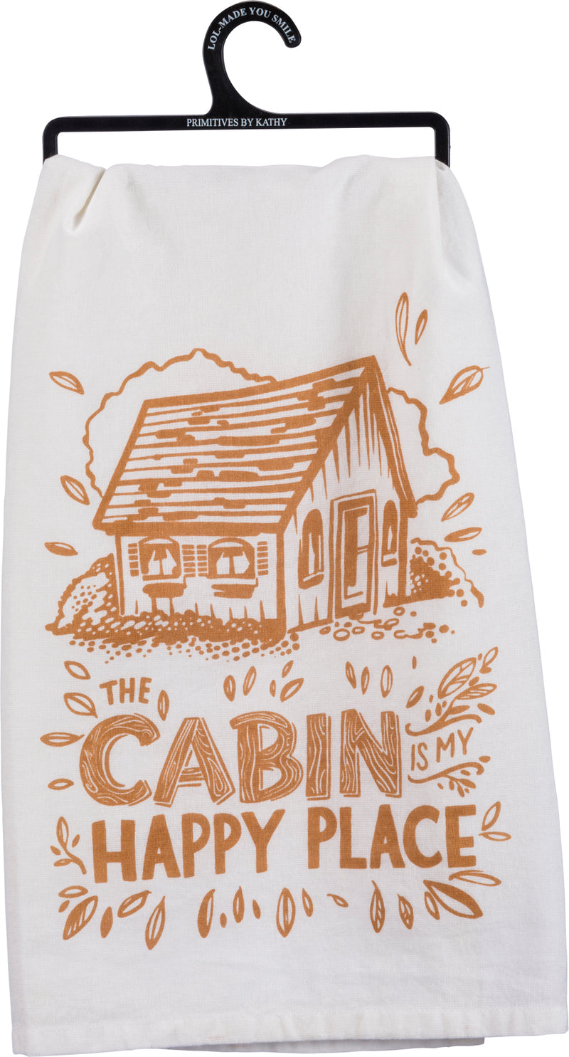 The Cabin Dish Towel