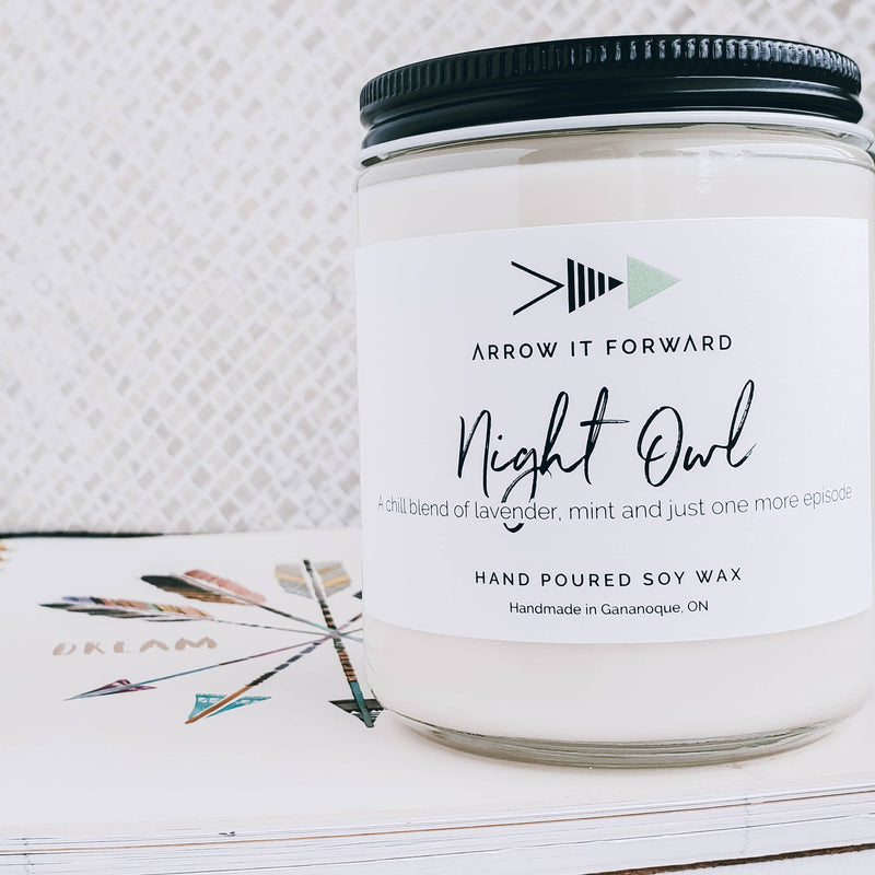 NIGHT OWL Soy Candle