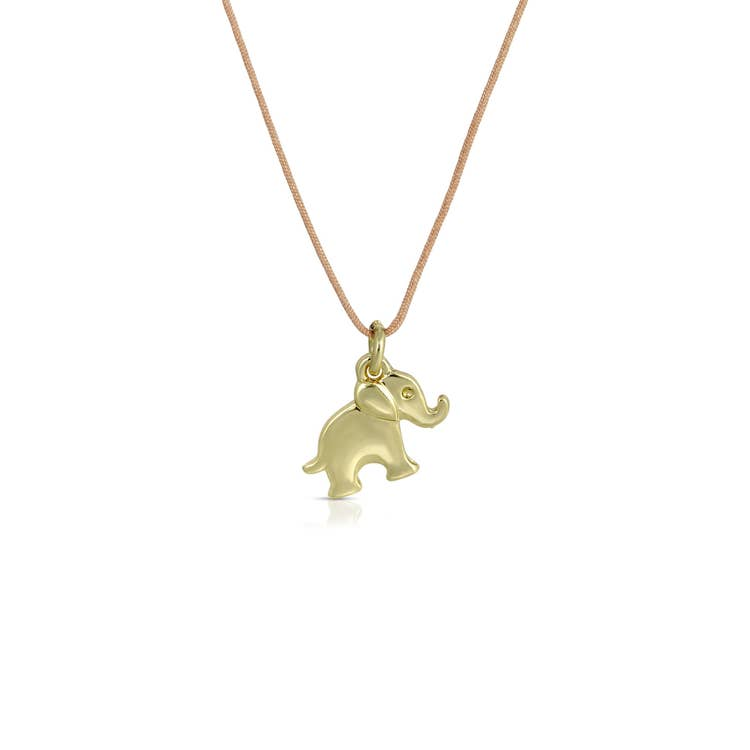New Moon Gold Necklace - FEEL LUCK/ELEPHANT