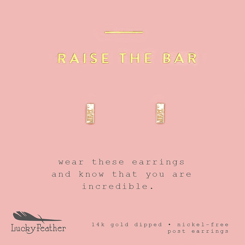 New Moon Gold Earrings - RAISE THE BAR