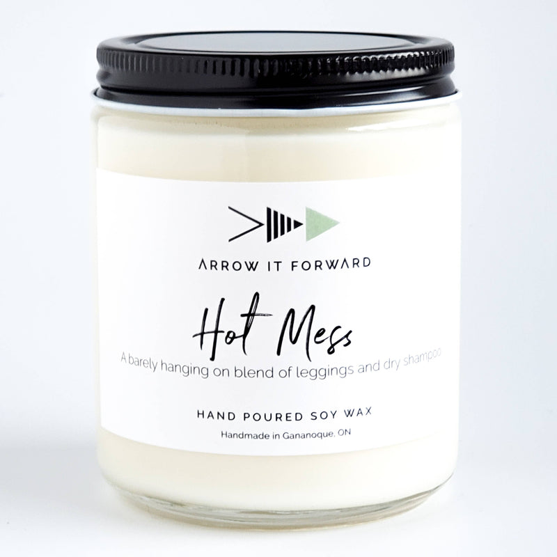 HOT MESS Soy Candle