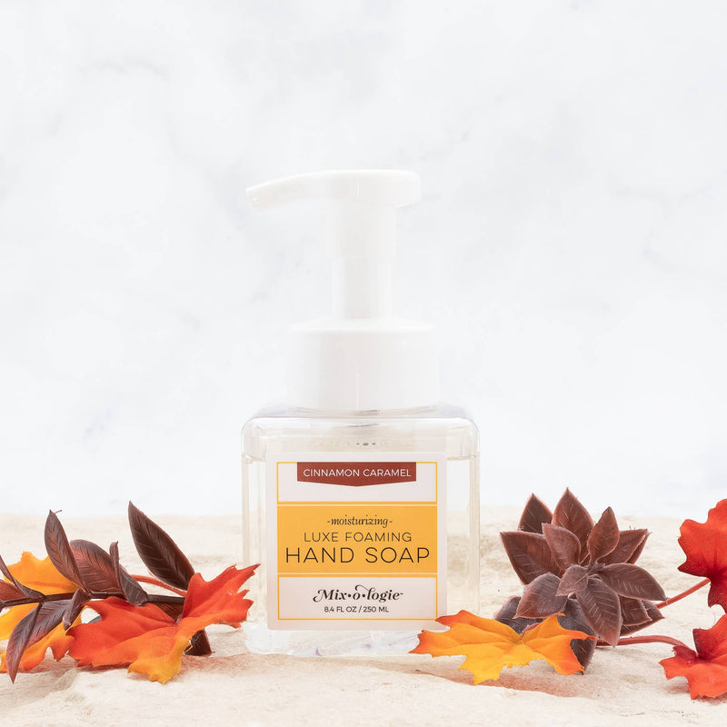 Cinnamon Caramel Foaming Hand Soap Holiday 2020