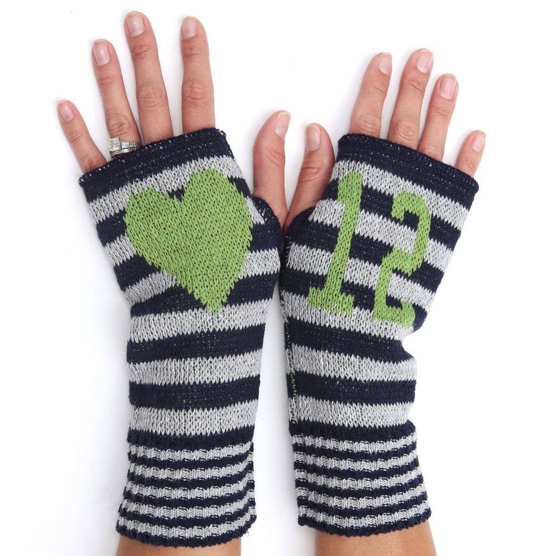 "Recycled Cotton Seattle Seahawks ""12"" Handwarmers"
