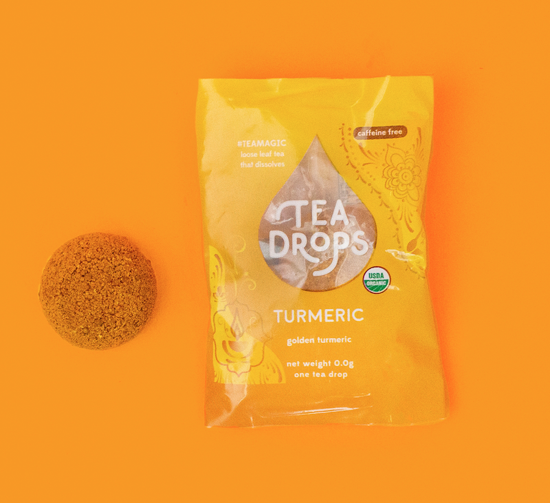 Tea Drops Tumeric - Single Serve Tea Drops