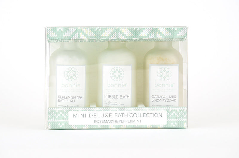 Mini 3 Piece Deluxe Bath Collection