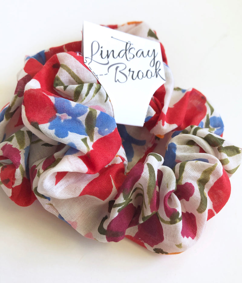 Hair Scrunchies by Lindsay Brook