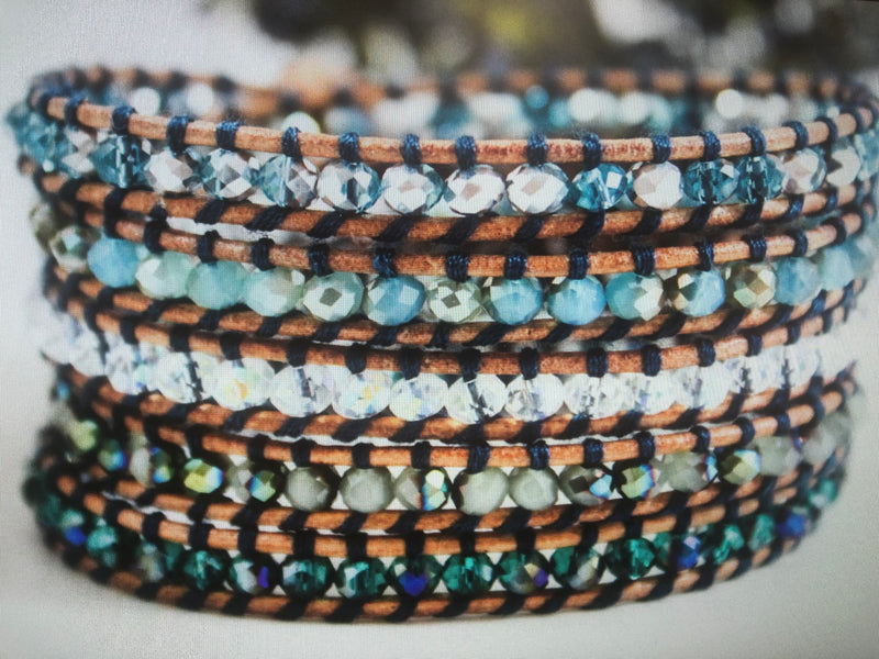 Mermaid Five Wrap Bracelet