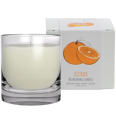 """Citrus"" Refreshing All Natural Aromatic Candle"