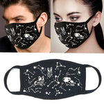 """Oh my Stars a Puppy in Space"" Unisex Face Mask - Rhinestone"
