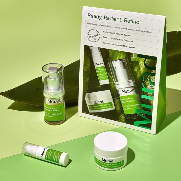 """Ready, Radiant, Retinol"" Facial Travel Kit"