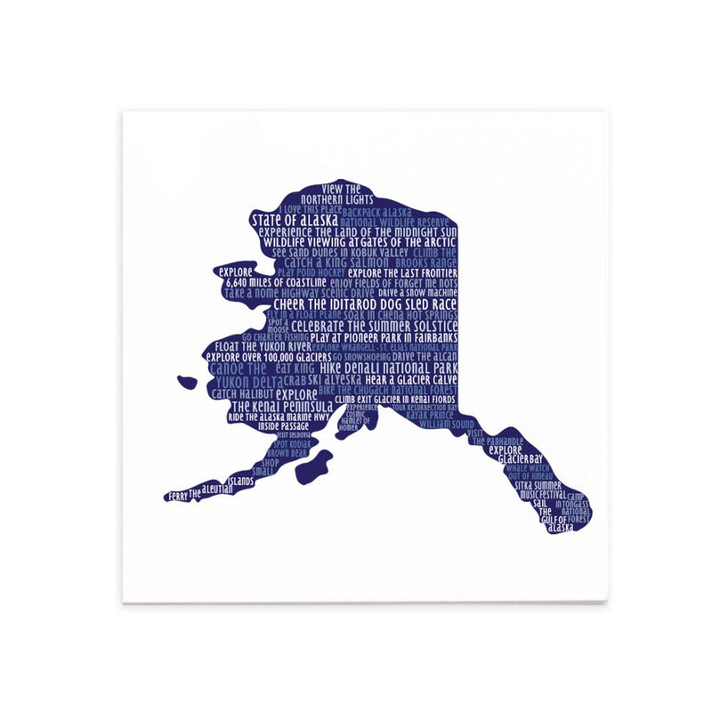 Alaska Bucket-List Greetings Card