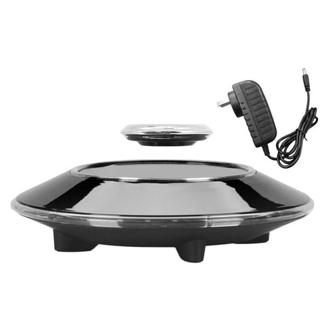 Image of Magnetic Suspension Flying Saucer Showing Shelf