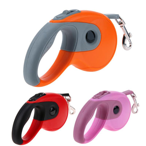 Image of Dog Leash Retractable Automatic Flexible Dog Puppy Cat Traction Rope Leash for Small Medium Dogs Cat Pet Products