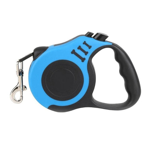 Image of 3/5M Dog Leash Automatic Retractable Dog Pets Leash Cat Puppy Lead Traction Rope Dogs Training Pet Supplies