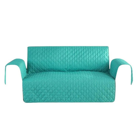Image of Washable Removable Armrest Slipcovers Sofa Couch Cover for Pet Dog Kids Mat