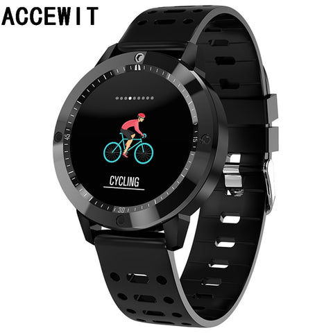 ACCEWIT CF58 Smart Watch Sports Men Women Smartwatch IP67 Waterproof Fitness Tracker Heart Rate Monitor for mi band Android IOS
