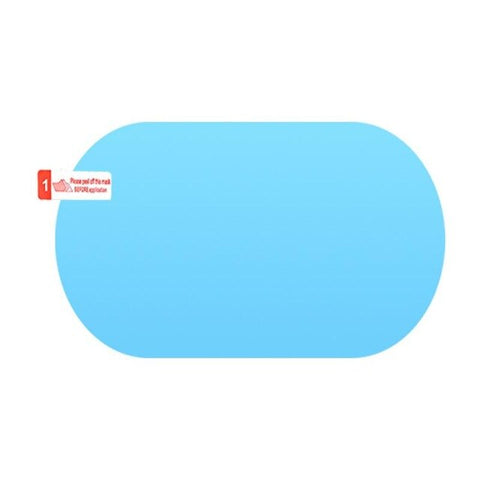 Image of A Pair Of Car Rearview Mirror Waterproof Anti-Fog Rain-Proof Film Side Window Glass Film Home Bathroom Auto Accessories Supplies