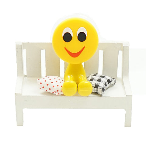 Image of QQ Emoji Sucker Toothbrush Holder Super Suction Cup Hook Multi-functional Funny Expression Face Rack Home Bathroom Accessories