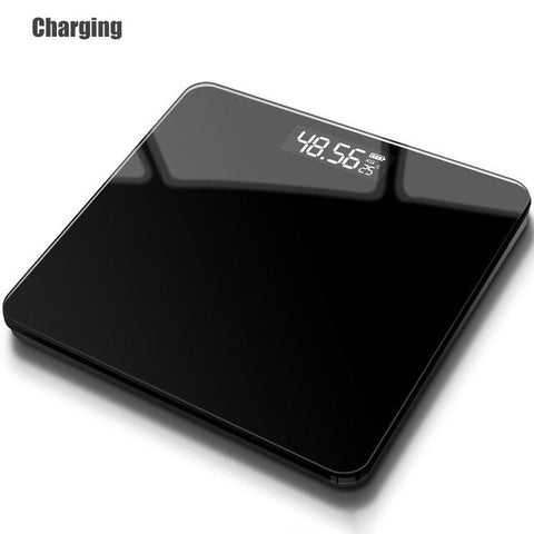 Image of ONEUP Bathroom Body Scales Glass Smart Household Electronic Digital Floor Weight Balance Bariatric LCD Display Home Accessories