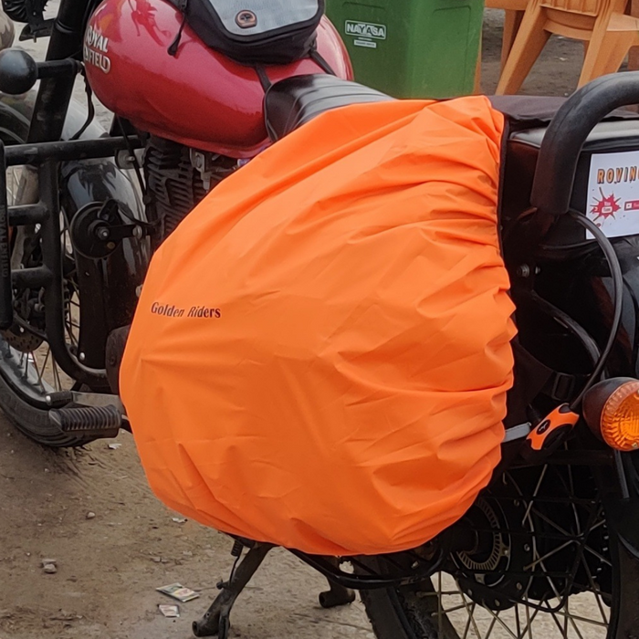 SADDLE BAG RAIN COVERS- 72 LTR