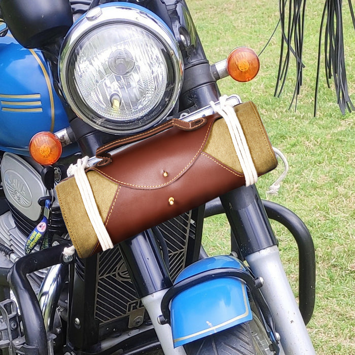 TOOL KIT WRAP DARK BROWN