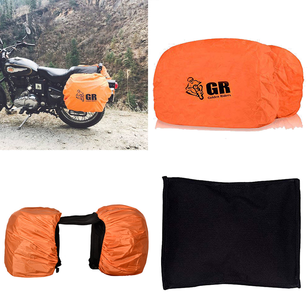 SADDLE BAG RAIN COVERS- 50 LTRS