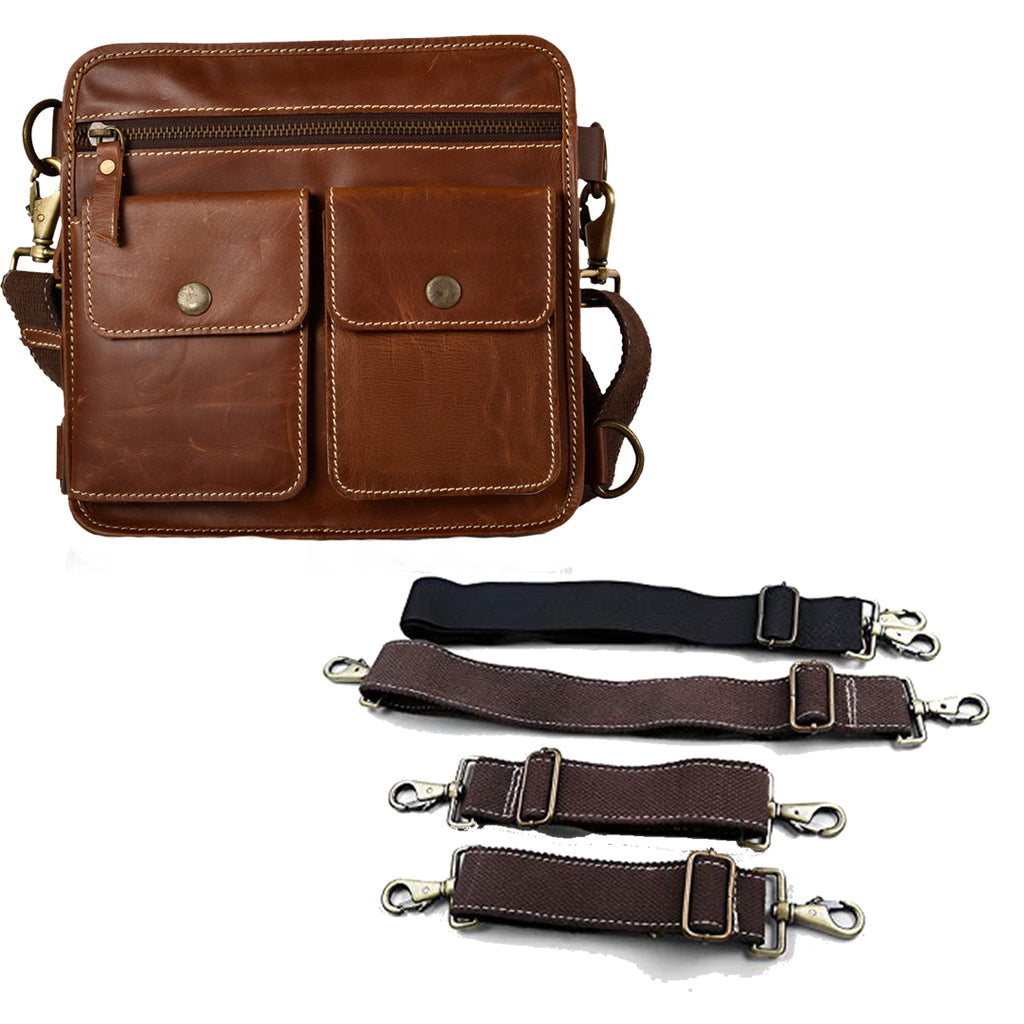 BIG THIGH BAG BROWN