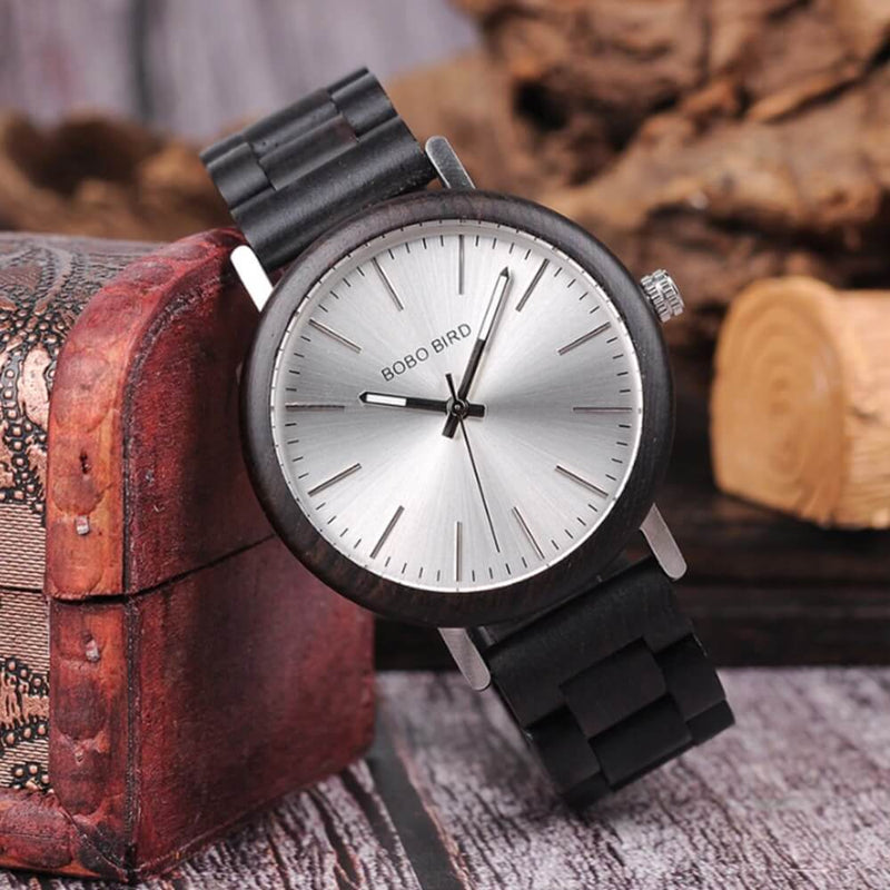 Wood o' clock - Holzstein