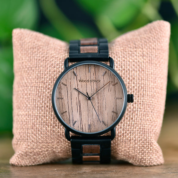 Wood o'clock - Herbstblatt