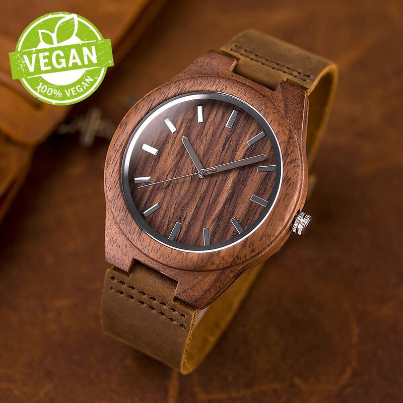 Wood o'clock - Vegano