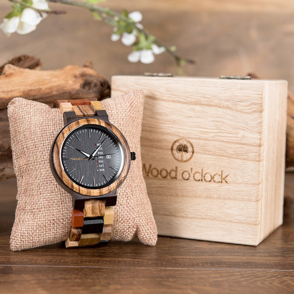 Wood o'clock - Adam & Eva