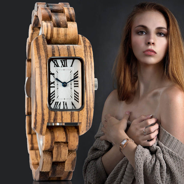 Wood o'clock - White Pearl