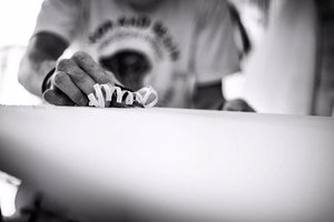 mitch clark surfboards shaper backyard unsung heros of board shaping cornwall custom retro designs
