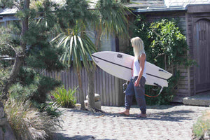 checking surf eco clothing brand uk cornwall palm trees sustainable slow fashion mental health awareness