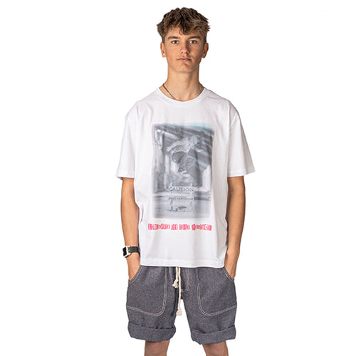 Caution Hippie Jump Loose Fit Skate T