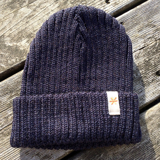 Legends Fisherman Style Navy Blue woolly hat - Legends Of The Wayside - Surf - Sake - Snow