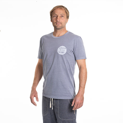 Stamp Round Lava Grey T