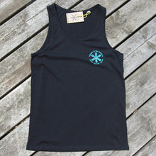 Legends Mens Star Logo Tank Top - Legends Of The Wayside - Surf - Sake - Snow