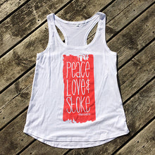 Peace Love & Stoke Women's Tank