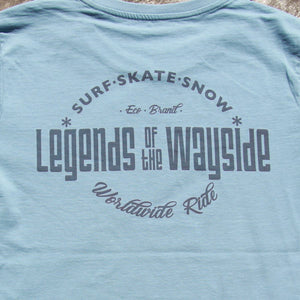 Worldwide Ride Legends T Citadel Blue - Legends Of The Wayside - Surf - Sake - Snow
