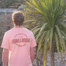 Worldwide Ride T-Shirt in Sunset Orange