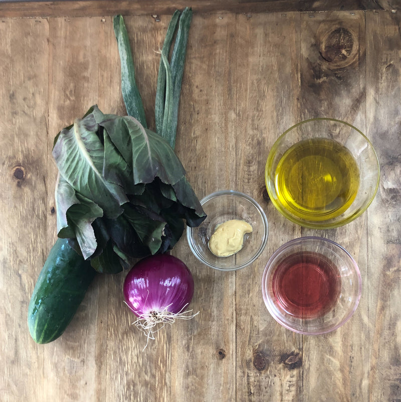 All You Need is Oil, Vinegar and Dijon aka Homemade Salad Dressing