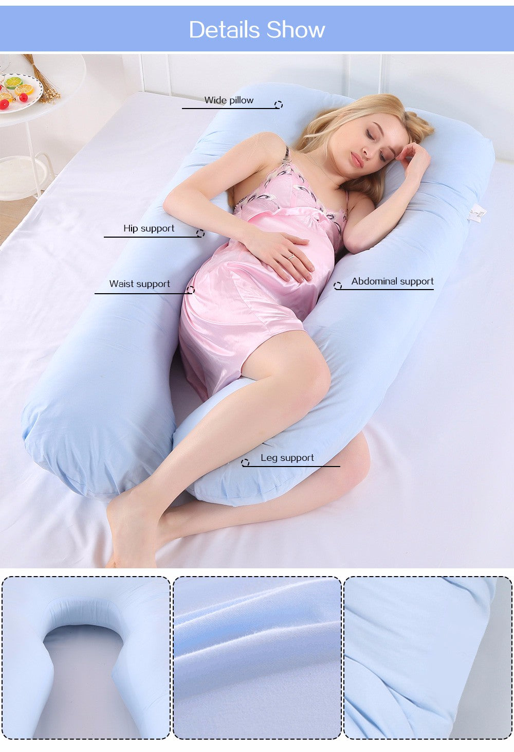 PregoCloud™ Pregnancy Body Pillow